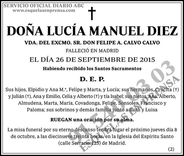 Lucía Manuel Diez